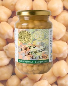 Cigrons cuits 220 g.